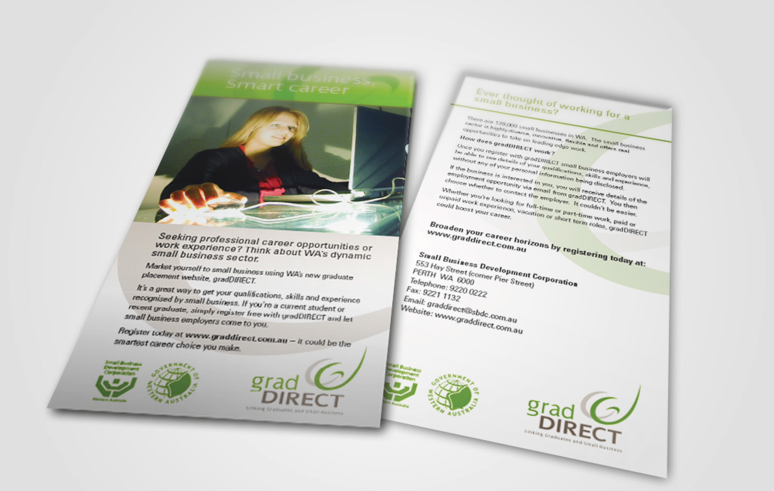 Brochure design perth design agency acorn design grad dl flyers2g reheart Images